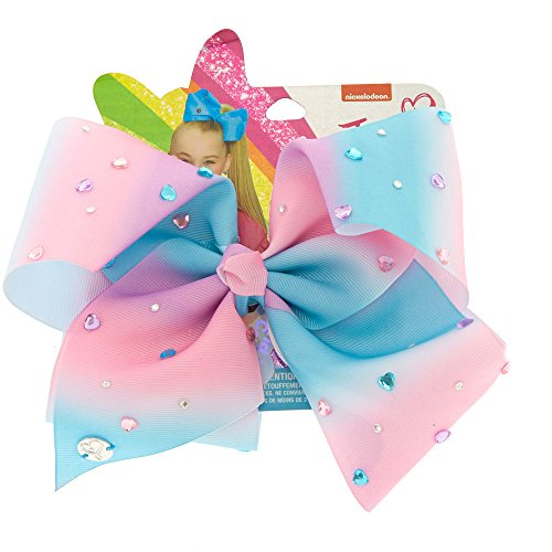 Claire's Girl's JoJo Siwa Large Kind Is Cool Signature Hair Bow (Signature Bows)