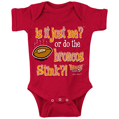 Smack Apparel Kansas City Football Chiefs Fans. is It Just Me?! Onesie (NB-18M) or Toddler Tee (2T-4T) (2T)