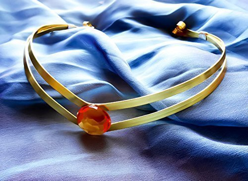 Elven Costumes For Adults (Sailor Venus Tiara by Arcane Attire | Sailor Venus Cosplay | Sailor Venus Costume | Anime Convention Cosplay | Handmade Light-Weight Cosplay Tiara | Adult And Child Size Available)