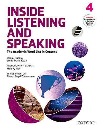 Inside Listening and Speaking Level 4 Student Book