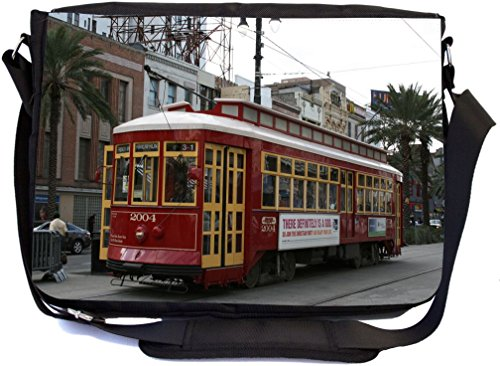 Rikki Knight New Orleans Trolley Bus Design (UKBK version) Premium Messenger School ()