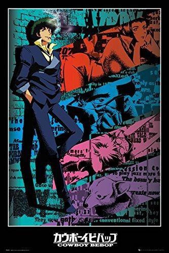 POSTER STOP ONLINE Cowboy Bebop - Anima/Manga TV Show Poster/Print (Spike) (Size: 24