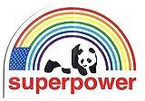 Enjoi Superpower Skateboard Sticker - 10cm Wide