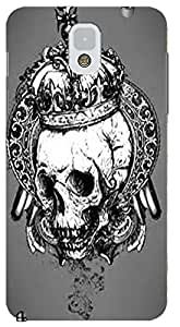 Fantastic Faye Cell Phone Cases For Samsung Galaxy Note 3 No.12 The Special Design With Skull Heads by lolosakes