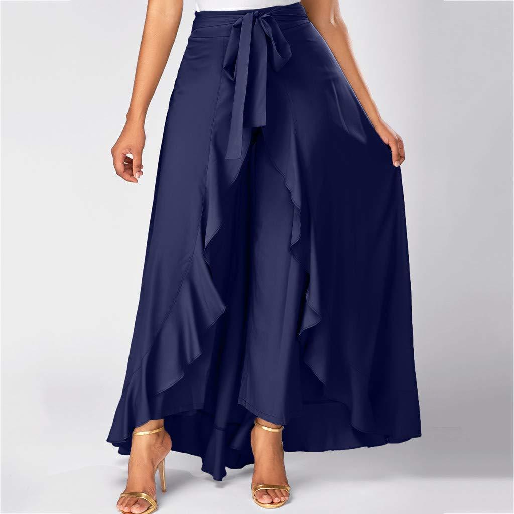 Mujer Pantalones Para Mujer Faldas Cintura Alta Anchos Invierno Elegantes Tallas Grandes Paolian Falda De Baile Mujer Fiesta Flamenco Primavera Vestir Volantes Asimetrico Ropa Brandknewmag Com