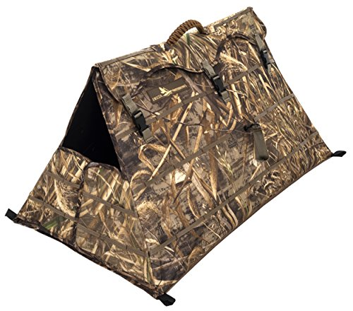ALPS OutdoorZ Delta Waterfowl Alpha Dog Blind, Realtree MAX-5 - Hunting Dog Blind