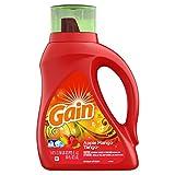 Gain Liquid Laundry Detergent, Apple Mango Tango Scent, 1.47 L (24 Loads)