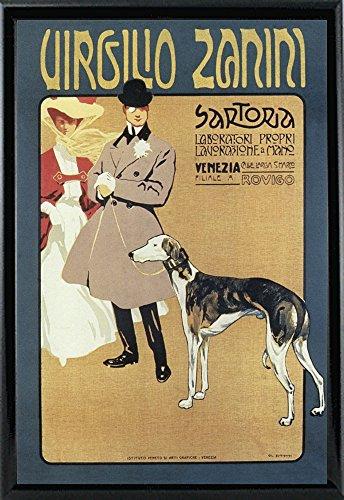 Virgilio 1900-VINAPP121078 Framed Print 20