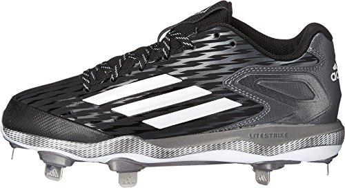 Tacchetto Poweralley Di white Donne Black Softball Metallic 3 W carbon Adidas Performance Delle HwU8rH