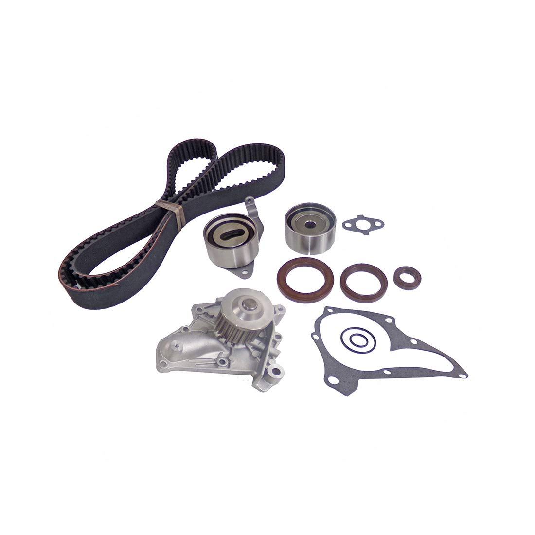 DNJ Timing Belt Kit with Water Pump TBK907WP for 87-01 Toyota 4 Cyl 2.0L 2.2L 122 DOHC 16V 3SFE 5SFE