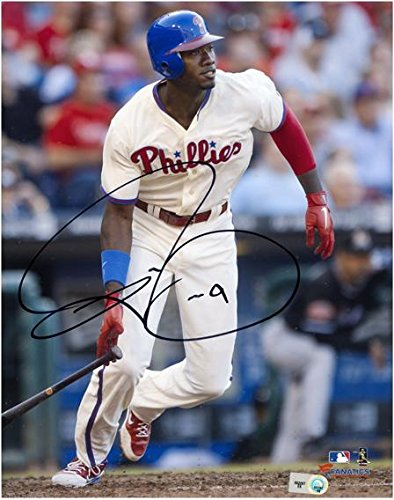 "Domonic Brown Philadelphia Phillies Autographed 8"" x 10"" Off White Photograph - Fanatics Authentic Certified by..."