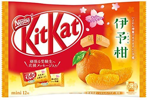 (Kit Kat Chocolate Citrus Fruit Orange Iyokan)