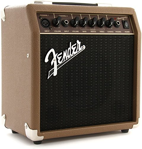Fender Acoustasonic 15 - 15 Watt Acoustic Guitar Amplifier (Fender Headphones compare prices)