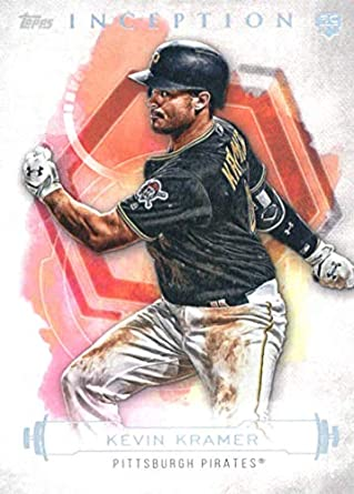 Amazon com: 2019 Topps Inception #48 Kevin Kramer Pittsburgh