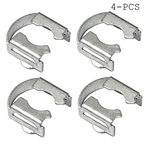 (Fuel Injector Retainer Kit with Clip (4))