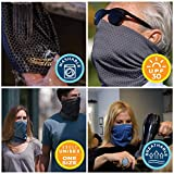 Copper Fit unisex adult Guardwell Face Cover and