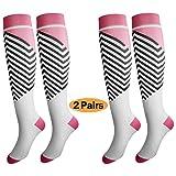Compression Socks for Women & Men, Deilin Graduated Compression Sock 20-30 mmhg