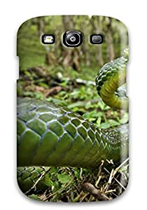 New Fashion Premium Tpu Case Cover For Galaxy S3 Snake