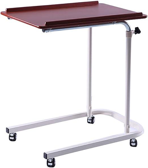 WENJUN Mesa Plegable para Laptop, Carro Portátil del Escritorio ...