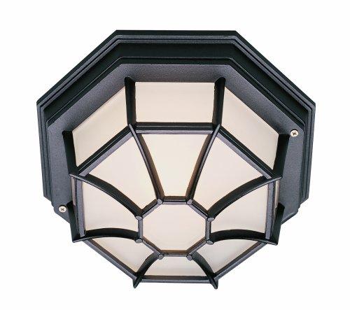 Trans Globe Lighting 40582 Rt Outdoor Benkert 5 Flushmount Lantern Rust
