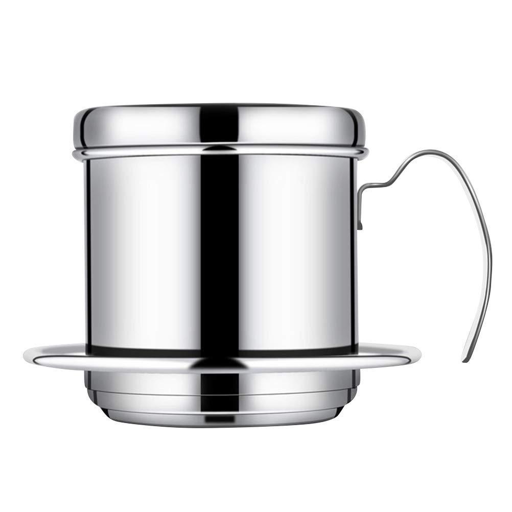 Acquisto Kjlkljhgfjh Filtro in Acciaio Inox Caffettiera Caffettiera Caffettiera con Filtro per Home Caf & eacute; B & Navigazione Uso ro (Color : -, Size : -) Prezzi offerta