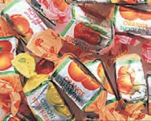Go Lightly Sugar Free Assorted Fruit Chews 3LB Bag by GoLightly