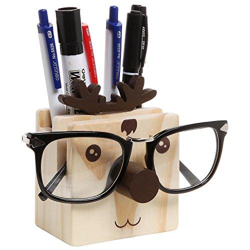 Humorous Reindeer Desktop Organizer Eyeglass