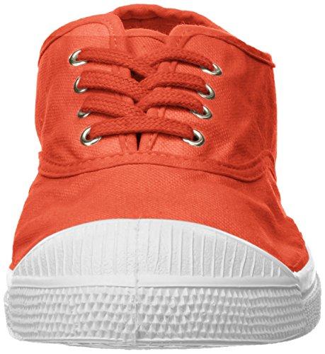 Donna corail Lacets Sneaker Bensimon Arancione Tennis qFZapc8