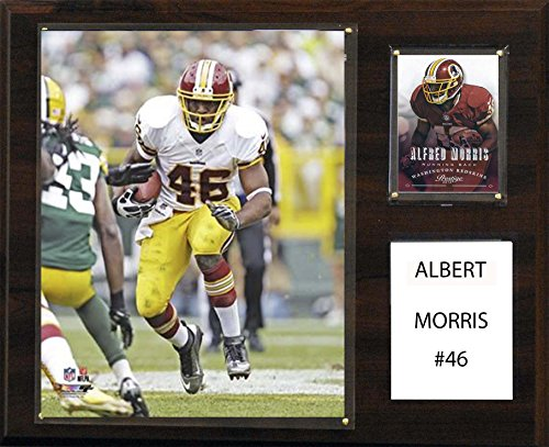 (C&I Collectables NFL Washington Redskins Alfred Morris Player Plaque, 12 x 15-Inch)