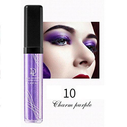 RNTOP Liquid Shimmer Glitter Eye Shadow Powder Palette Matte