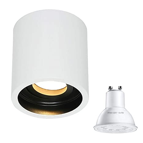 Globo - Lámpara de techo (1 foco, 1731 W, incluye bombilla ...