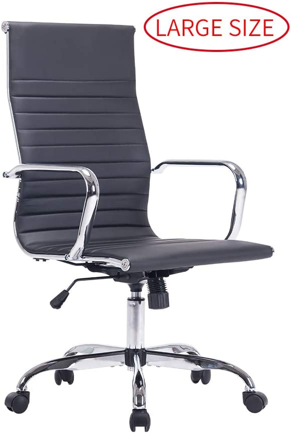 Sidanli Black Office Chair, Conference Room Chairs -High Back Desk Chair