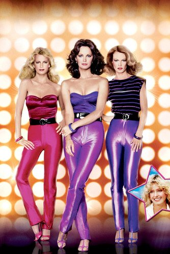 Charlies Angels Poster Jaclyn Smith Cheryl Ladd Shelley Hack Tight Pants