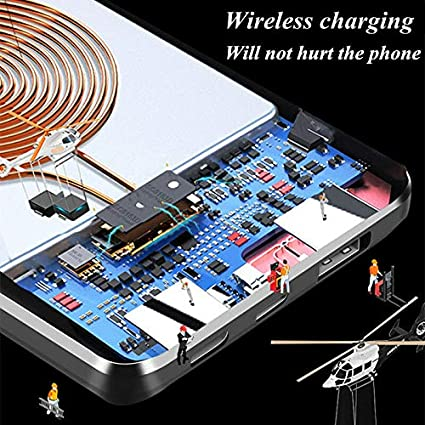 Compatible with More Than 99/% Mobile Phones AVGDeals 2019 Power Bank 500000mAh Qi Wireless Charger Portable Polymer External Battery
