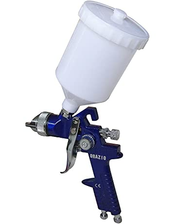 22142030 Presión Alta Gravity Alimentador HVLP Pintura Pistola Pulverizadora H827 500CC 1.4MM Boquilla