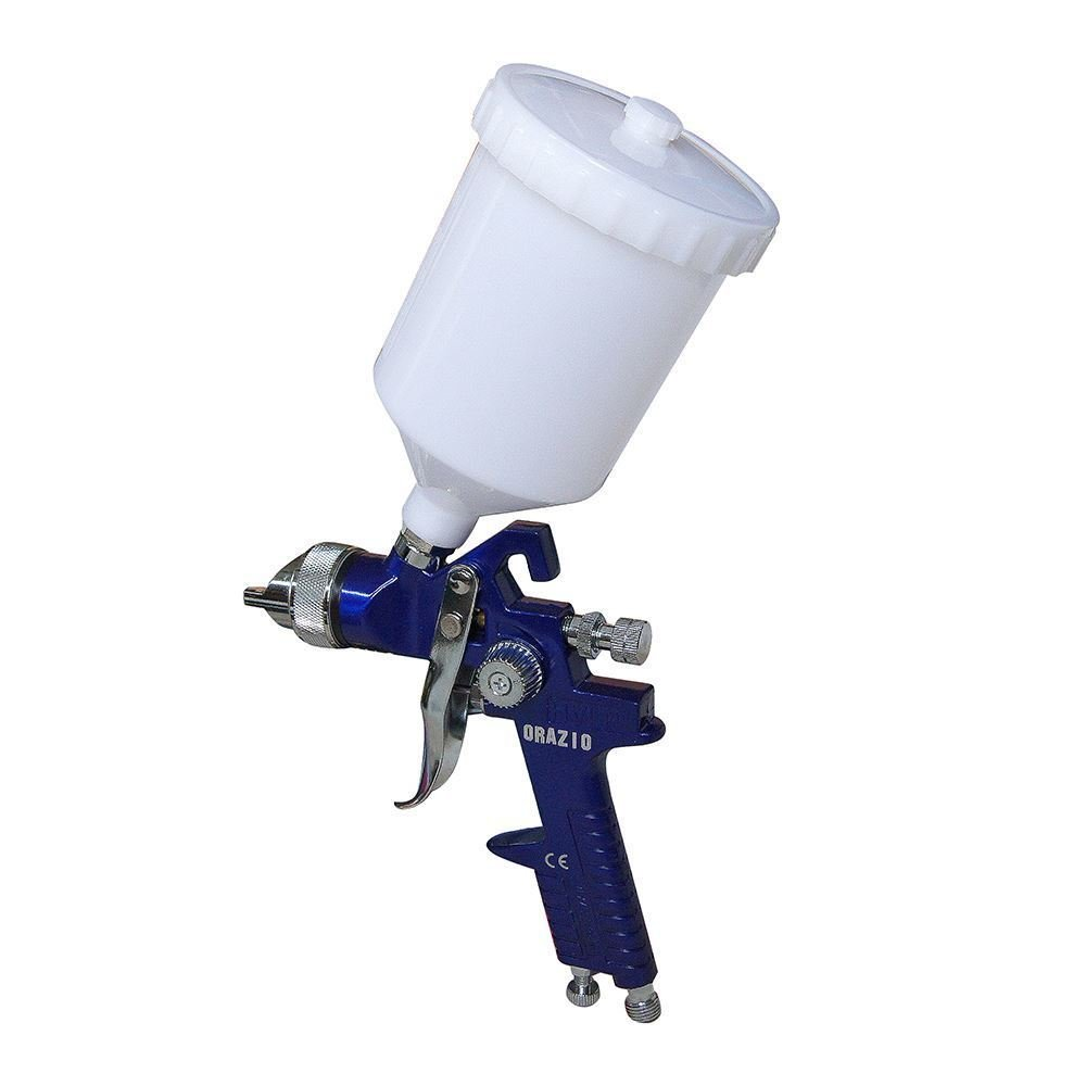 22142030 High Pressure Gravity Feed HVLP Paint Spray Gun H827 500CC 1.4MM nozzle ORAZIO