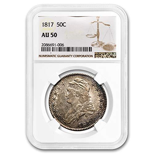 1817 Capped Bust Half Dollar AU-50 NGC Half Dollar AU-50 NGC