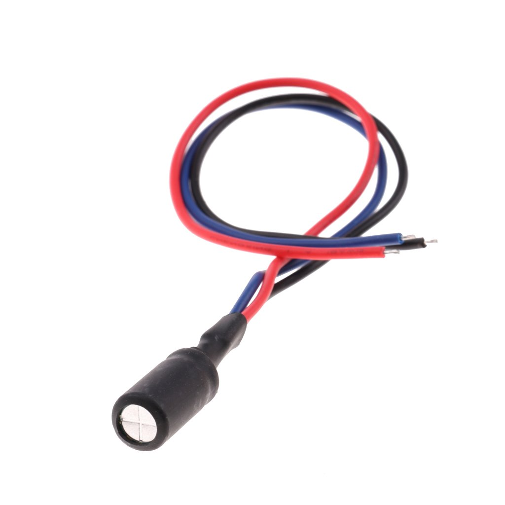 Homyl 12V Plastic+Metal Power Relay Filter Rectifier Connector Wire for Car Reverse Camera