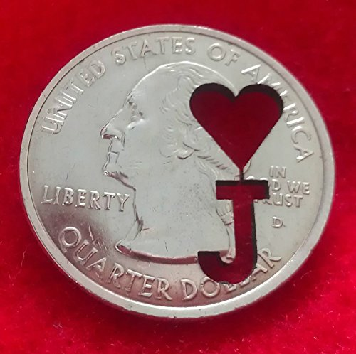 New Cut Out Quarter Dollar Coin Magic Trick / 25 Cent US 25c Cut Out Coin ()