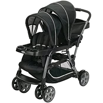 Amazon Com Graco Ready2grow Click Connect Stand Amp Ride