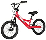 Strider - Youth 16 Sport No-Pedal Balance Bike, Ages 6 to 10 Years, Red