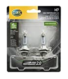 hella headlight bulbs - HELLA 2.0TB HP2.0-55W High Performance H7 Bulbs, 12V, 55W, 2 Pack