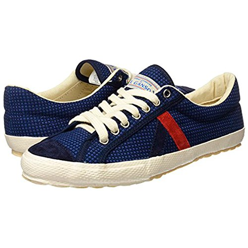 El Ganso M Match Ante/Canvas Ribbon, Chaussures homme, Baskets mode, Sneaker Waking Canvas Fabric Blue