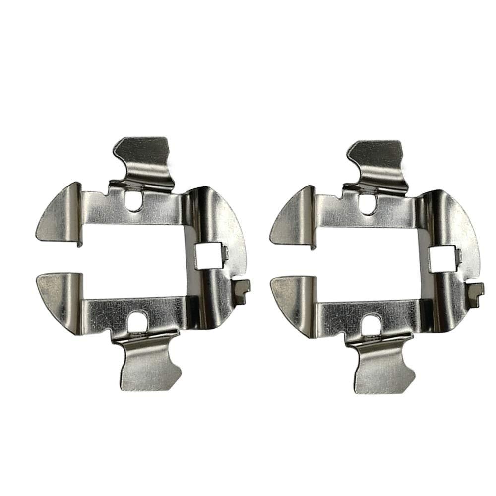 2Pcs Metal HID X/énon Ampoule Adaptateur H7 Adaptateur de support de lampe de conversion