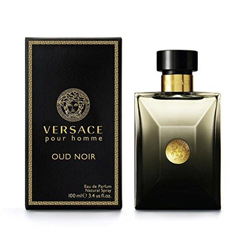 Versace OUD Noir Eau De Parfum Spray, 3.4 Ounce (Eau Parfum For Gucci Men De)