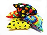Handmade in the USA Catnip Pillow Toy (Choices of 1, 2, or 5 Pillows in Boy, Girl, or Mix Patterns), My Pet Supplies