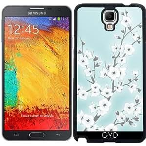 Funda para Samsung Galaxy Note 3 Neo/Lite (N7505) - Flores De Cerezo Blanco De Menta by Nina Baydur