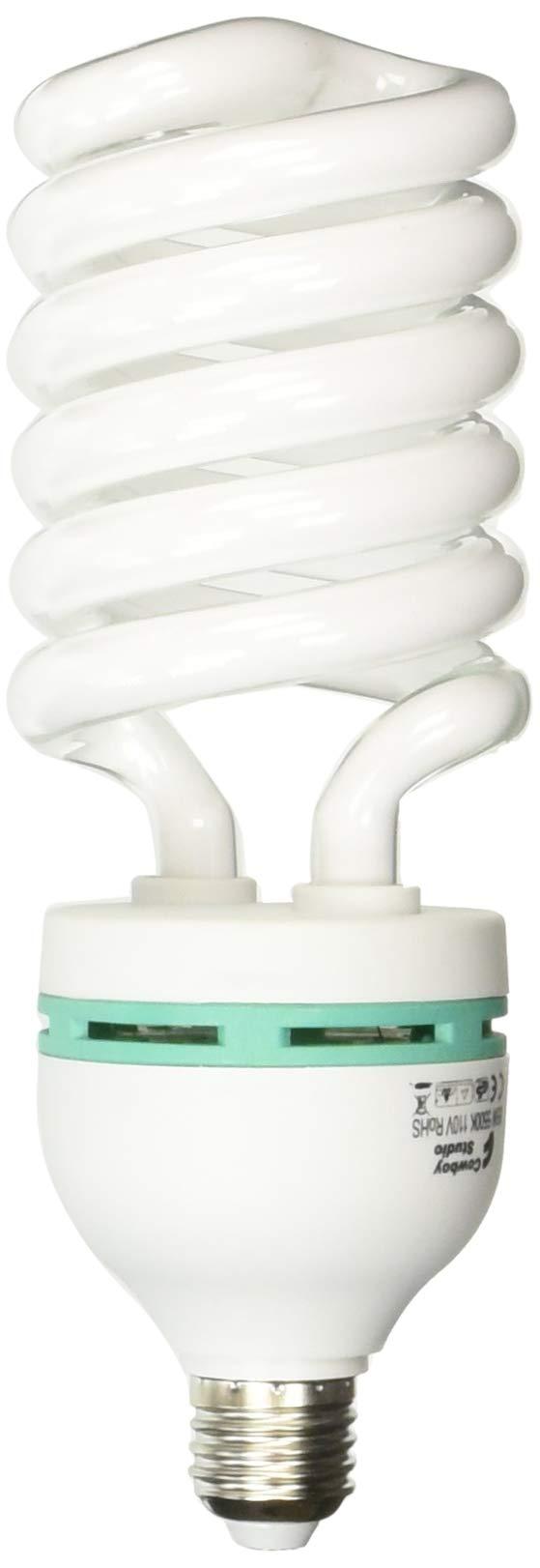 Cowboystudio Full Spectrum Light Lighting Bulb four 85 watt Photography Photo CFL 5500K - Case of 4 - daylight balanced pure white light - 4000 Lumens, Pack of 4