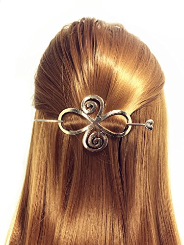 QTMY Round Circle Oval Branches Shaped Hair Pin Clips Hair Jewelry Hair Accessories (Oval - Items Oval Shaped