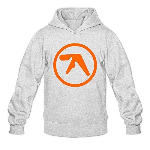 Custom Mens Aphex Twin Logo Printed Sweatshirt Pullover Hoodie
